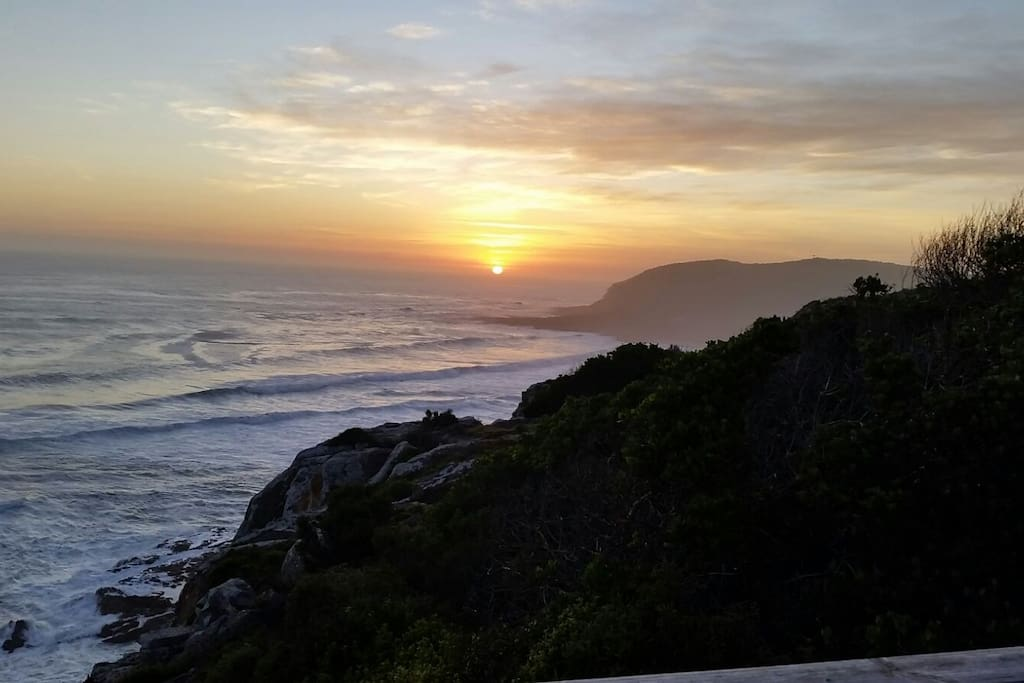 The view from the Robberg Nature Reserve (approx 1.5 km from the house)