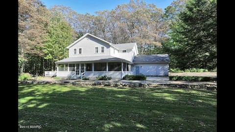 The Phearns Lake House in the Woods