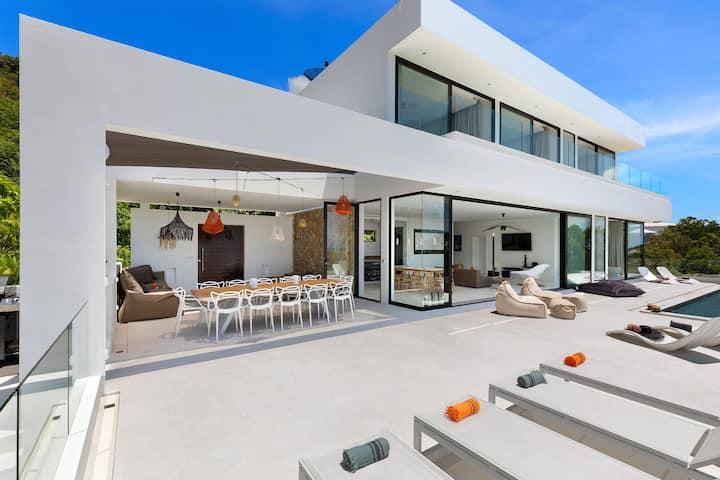 5BDR, Sea View, Private pool, Villa, Koh Samui