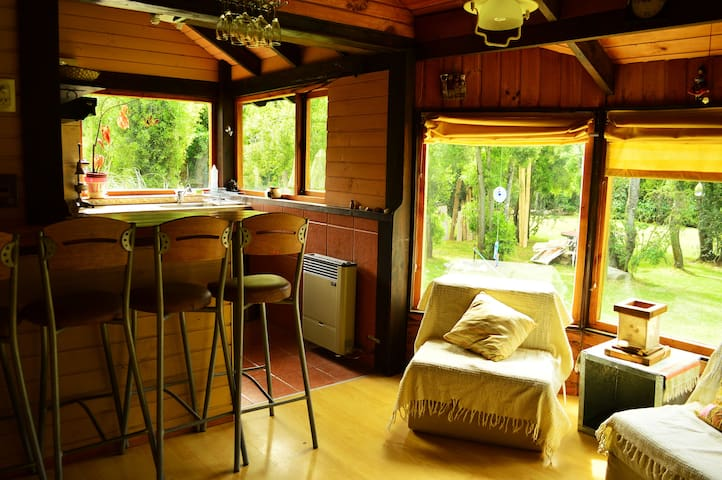 Vacation rental in Bariloche! Cabin with jacuzzi!