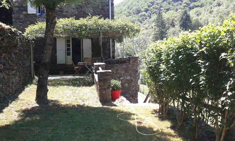 Petite maison de charme au cœur des Cévennes - Valleraugue