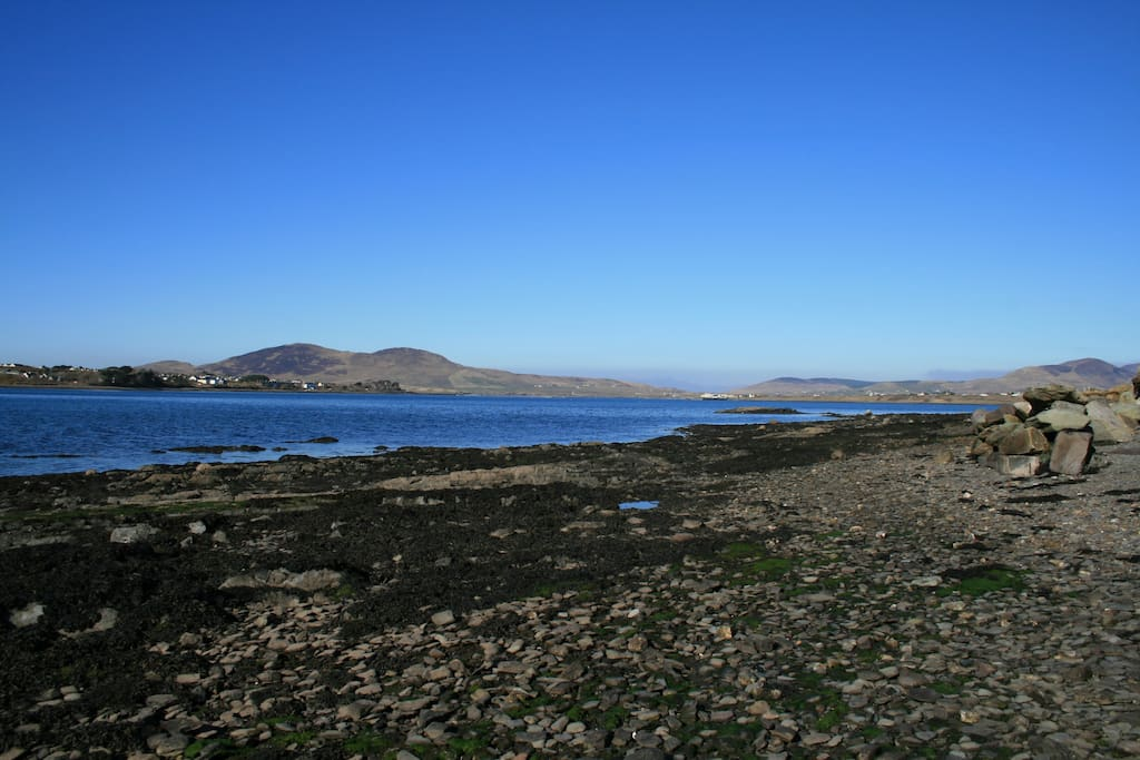 The strand, walk for miles undisturbed