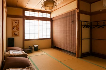 Female only Castle view Tatami room(private) - Gujo