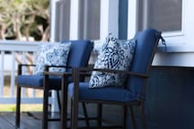Front Porch-  Great place to enjoy morning coffee!