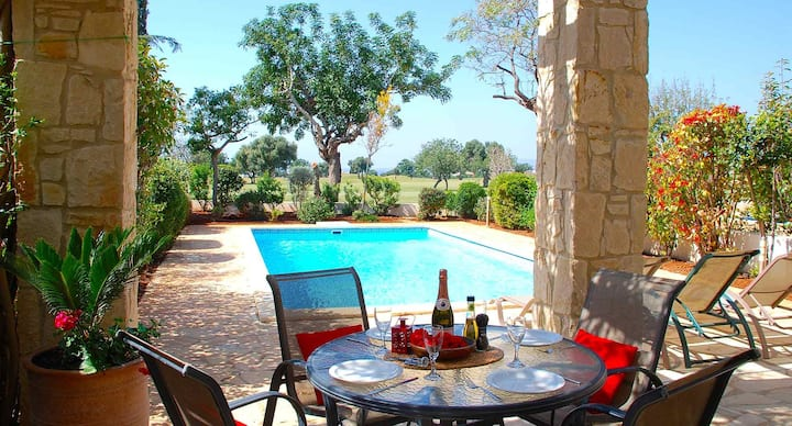 Villa Destu with private pool and lovely views