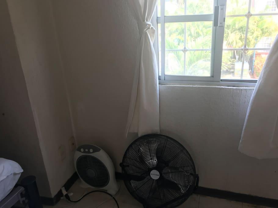 Ventiladores y aire