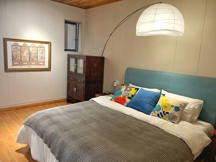 Greenhouse的北欧式客房/高品质超干净/ 青西郊野公园/亲水平台/可停车/划船/烧烤/骑行