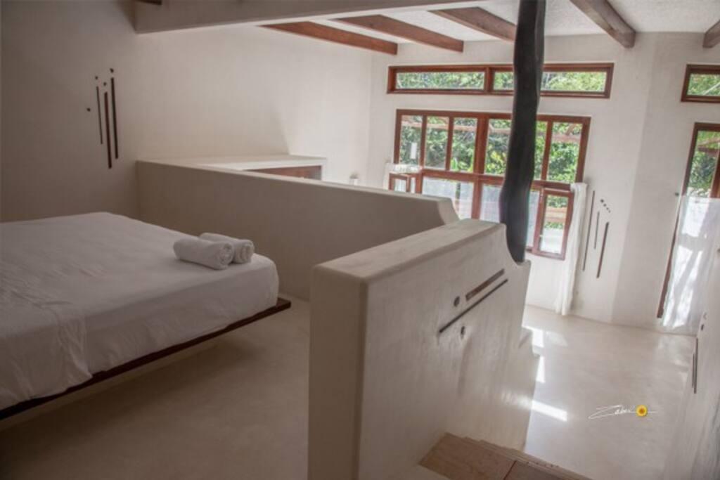 Casa Ebene  4 personnes 2 Lits King   1 salle de bain 1 terrasse + Hamac Air Conditionné