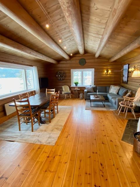 Fin familiehytte/ hyttekontor, kort vei fra Oslo