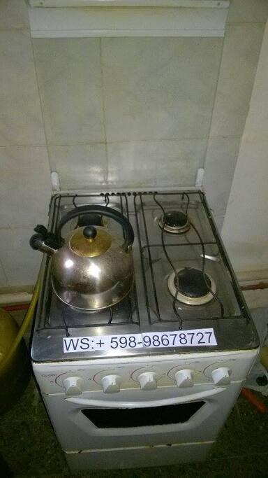 cocina con dato