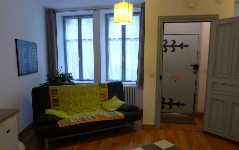Grand studio maison ancienne - Centre historique - Landerneau - Appartamento