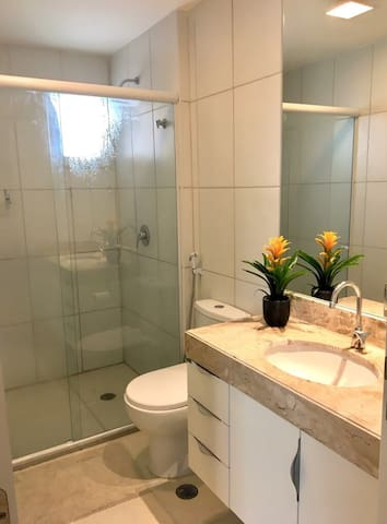 all 3 bathrooms with hot and relaxing shower