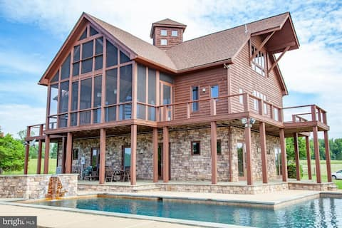 One Of A Kind Home in VA Wine Country on 50 acres