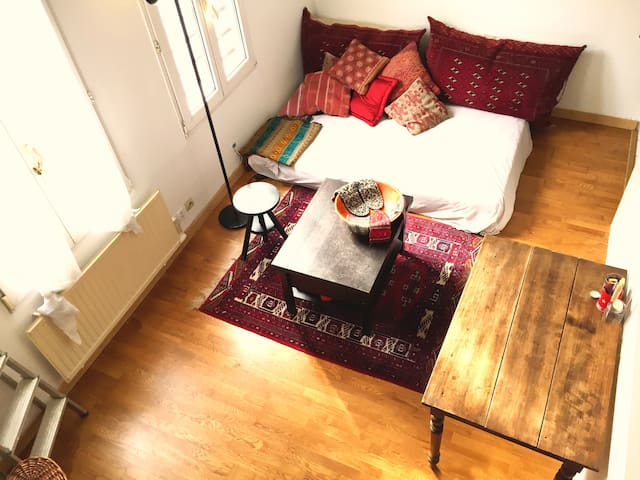 Amazing cosy flat in Buttes de Chaumont