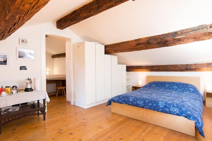 Quarto do Filipe - Double bedroom close to St Mark - Wenecja - Apartament