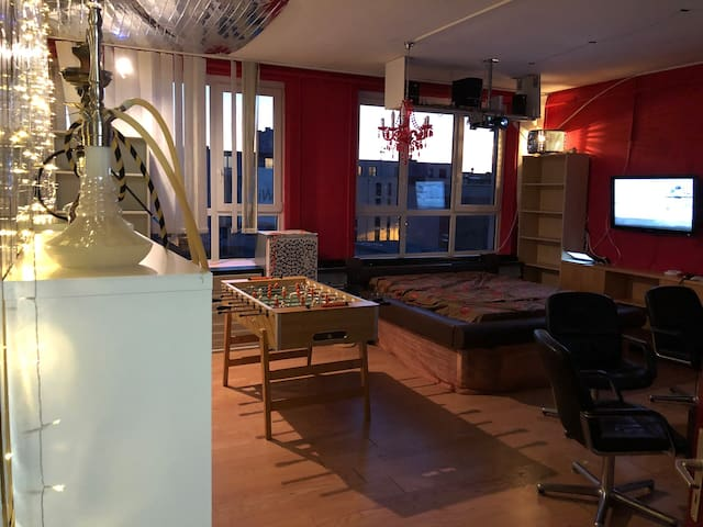 Sleepi Gaming Room - Loft Offenbach/Frankfurt