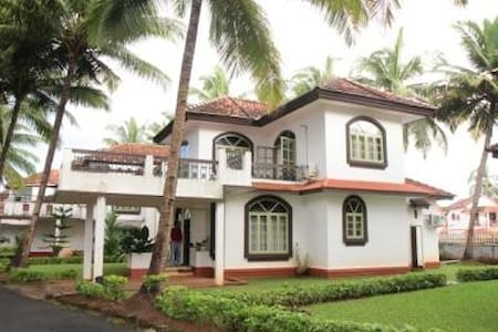 Luxurious 3 BHK Villa Walkable to Betalbatim Beach - Betalbatim