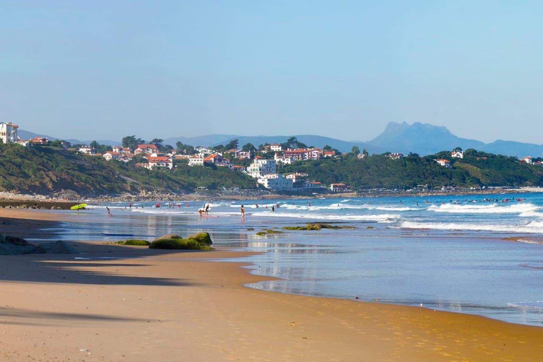 La plage du centre à 5 min à pied