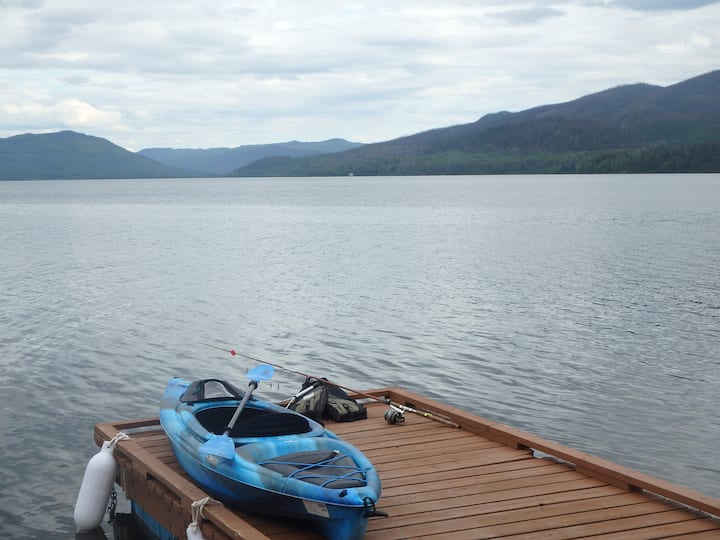 Francois Lake Cabin - Luxury Lakefront