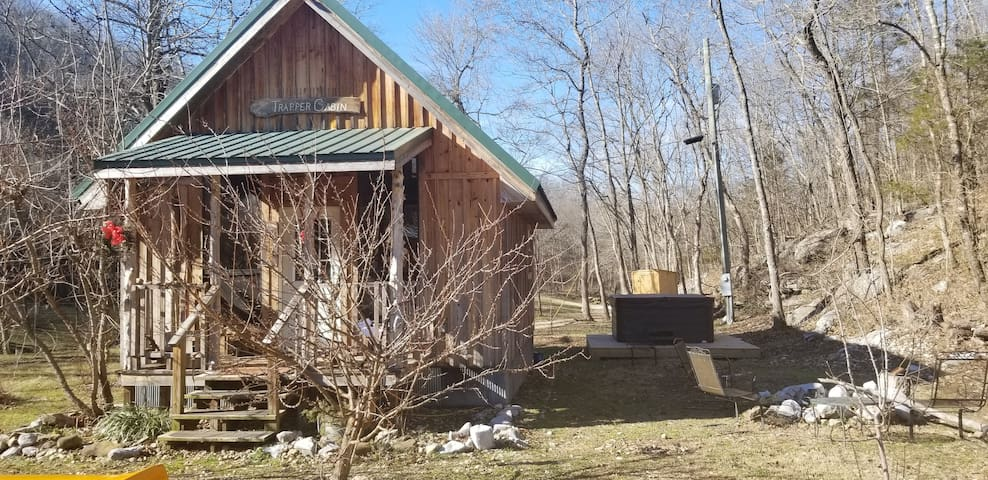 The Trapper Cabin and hot tub