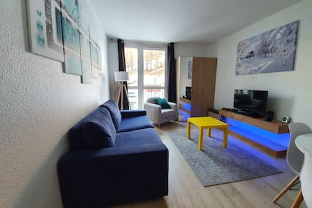 Spacious 2 rooms apart for 4 people on the slopes