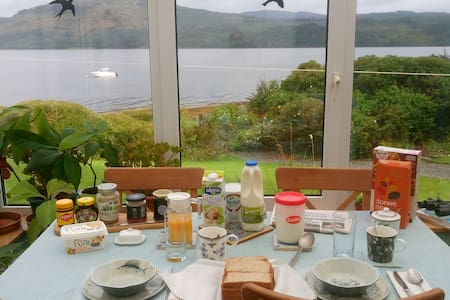 Double Room with Breakfast on Loch Fyne Shore