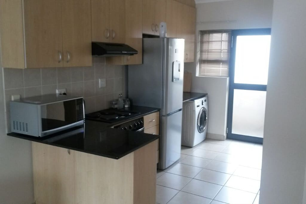 Kitchen - Open plan, spacious and well equipped
