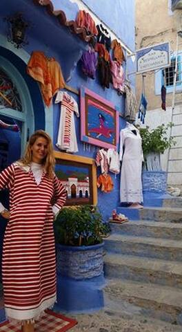 Most beautiful panoramic view - Chefchaouen - House