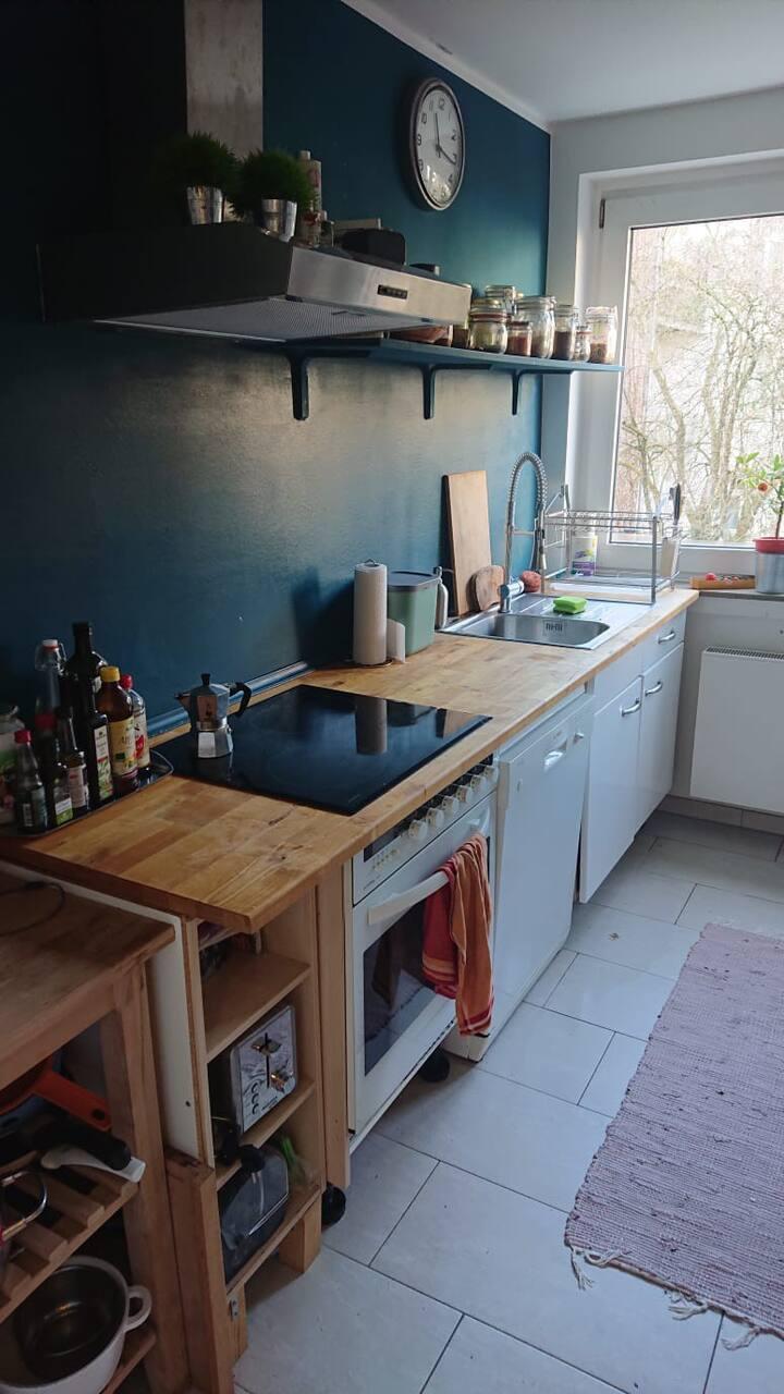 Gemütliche Wohnung für Familien in Köln-Ehrenfeld
