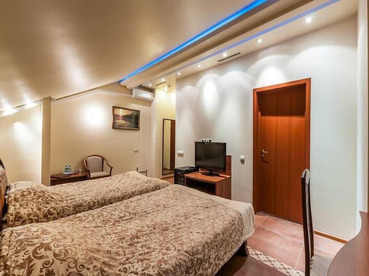 Удобная комната с 2 кроватями на Речном вокзале