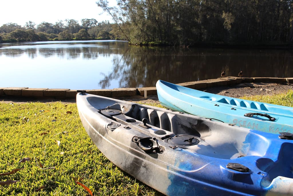 We have two kayaks at Driftaway that our guests can use.