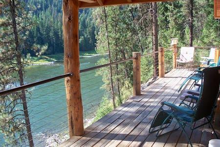 Clark Fork River Lodge on the Clark Fork River
