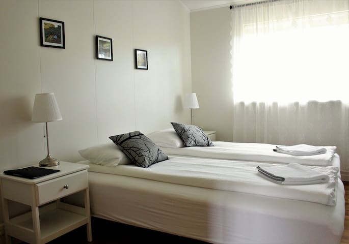 Efra-Sel, room #3 (2 single beds/double bed)
