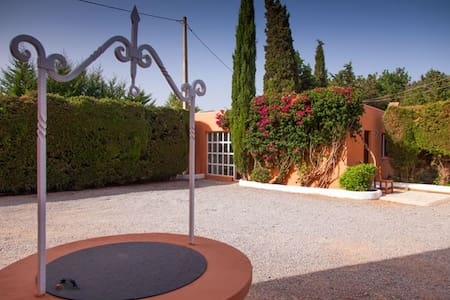 Cozy miniloft in Ibiza with pool and garden - Sant Josep de sa Talaia