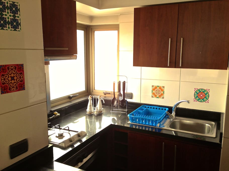 Comfortable kitchen fully equipped