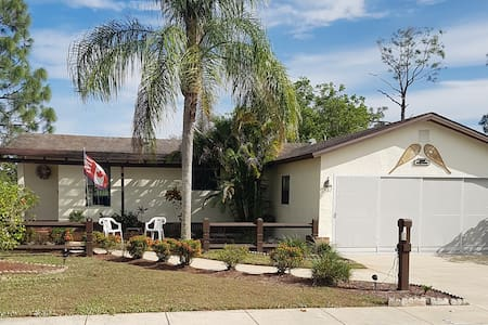 Child and pet friendly 2 bedroom home at Del Tura - North Fort Myers