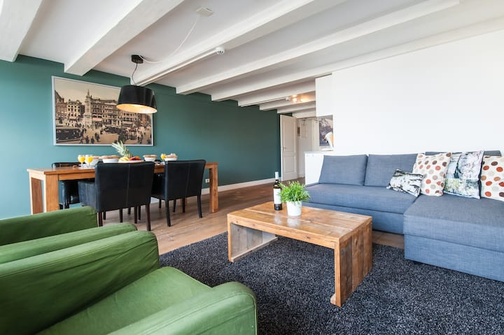 Extended Stay: 1-Bedroom Apt in Heart of Amsterdam