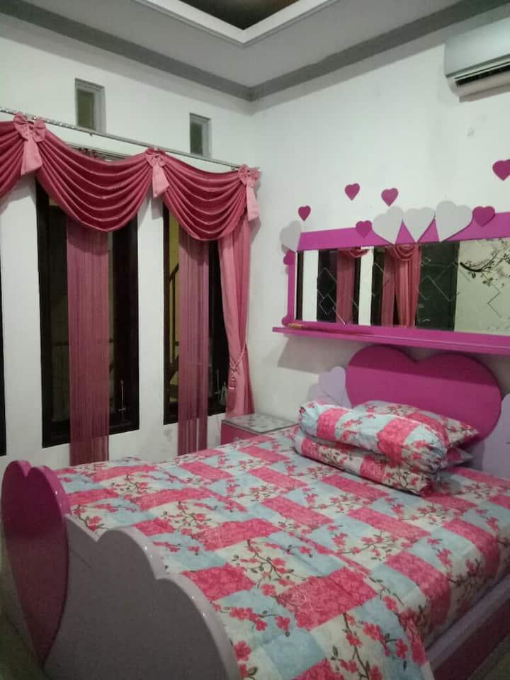 Pinkish room
