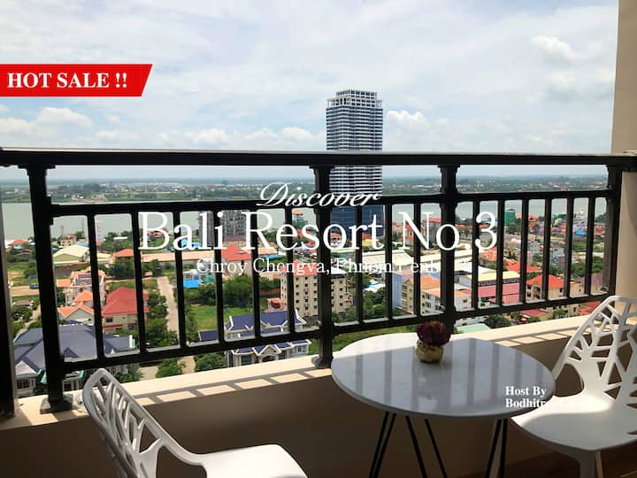 19B15_BigApartment/1BR/Grand View/NiceGym and Pool