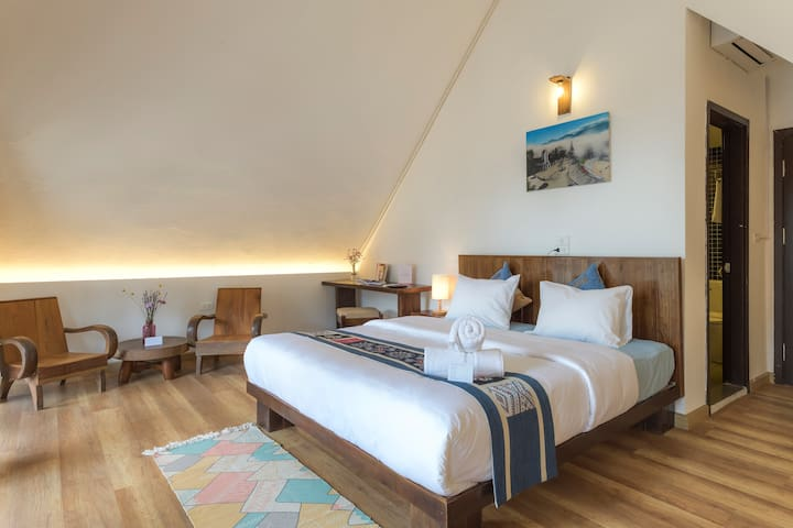 MaisondeSapa ✡ Attic Suite✹ Central French Villa