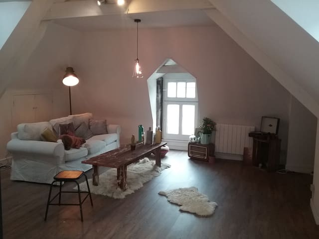 jolie appartement port de Dinan - Dinan - Apartmen