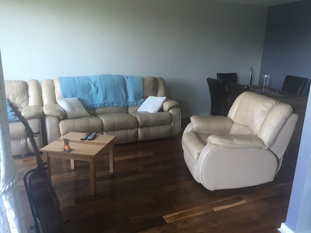 Large bedroom with private bathroom - Dublin - Apartment