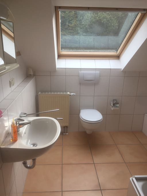 Bathroom and shower on your floor