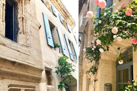 La Maison aux Roses - Grignan centre avec terrasse