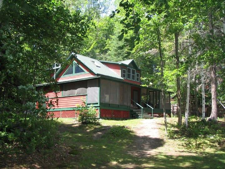 Adirondack Lakeside Cottage
