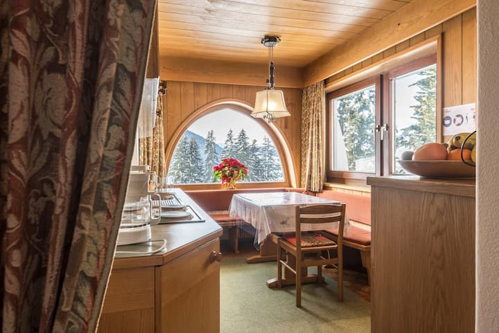 "Cosy Apartment ""Kleine Gartenwohnung HAUS FORELLE"" Directly on the Slopes with Mountain View, Wi-Fi & Garden; Parking Available"