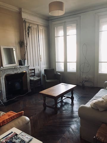 Nice bedroom in the heart of Lyon presqu'ile.