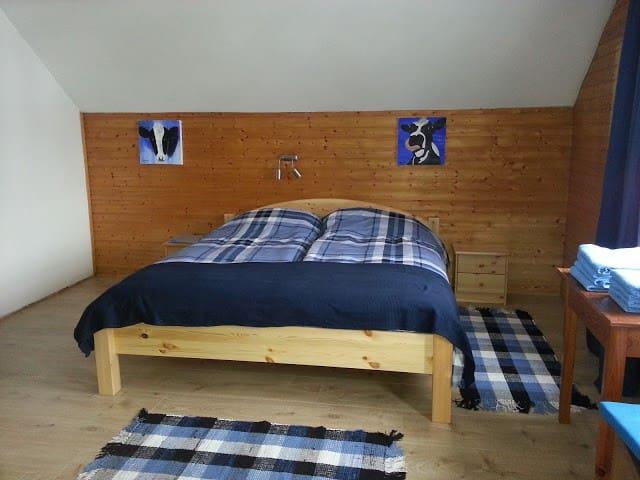 Kamer Blau voor 2 tot 5 personen - Treffen am Ossachersee - Bed & Breakfast