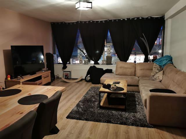 Appartement midden in het centrum van Hoogvliet