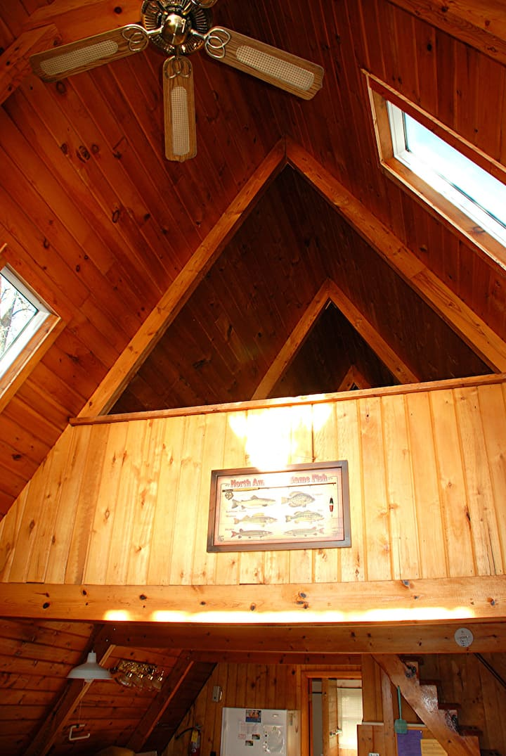 Lakefront Cabin, Couples Deal, Eco-Clean, Boats